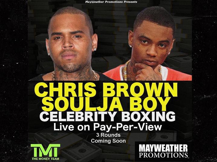 Chris Brown and Soulja Boy