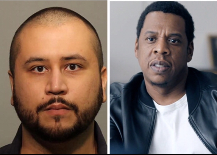 Jay-Z and George Zimmerman