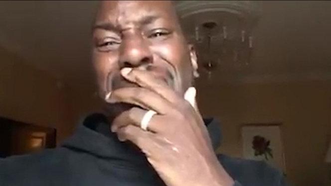 Tyrese Crying