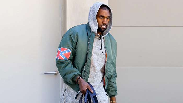 Kanye With Confederate Flag (Alt)