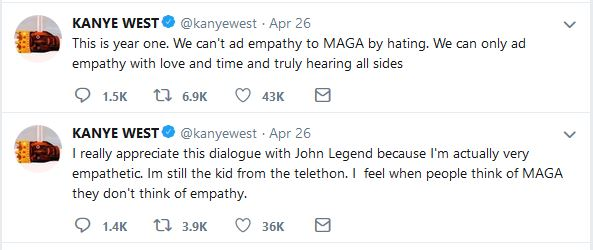 Kanye's Donald Trump Tweets 4