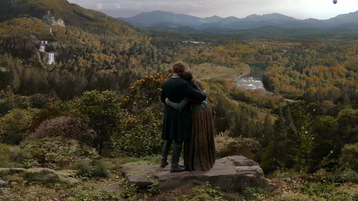Claire and Jamie - Fraser's Ridge (Alt)