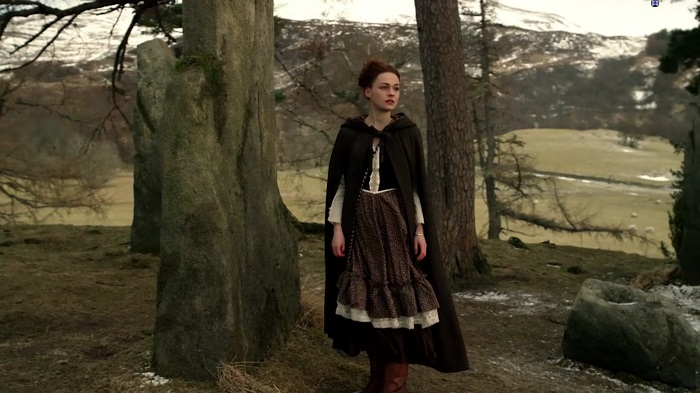 Outlander - Brianna at Craigh Na Dun (Alt)