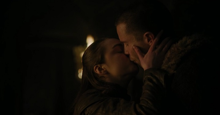 Arya and Gendry (Alt)