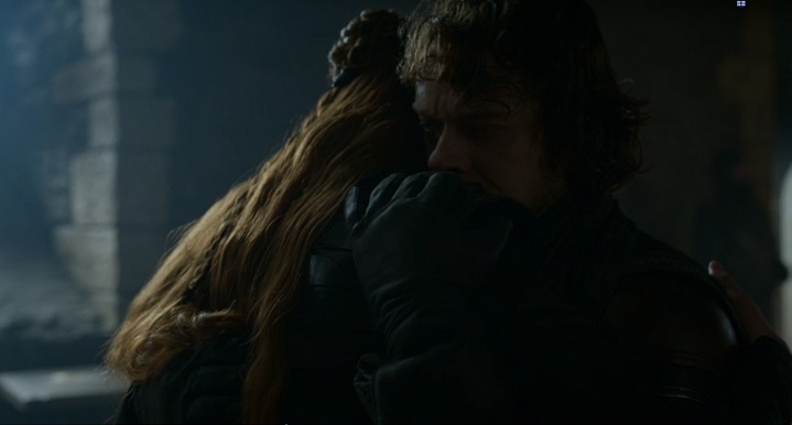 Theon and Sansa (Alt)