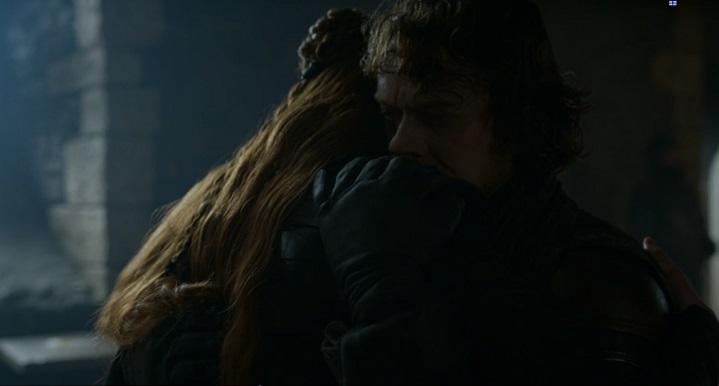 Theon and Sansa (Alt)