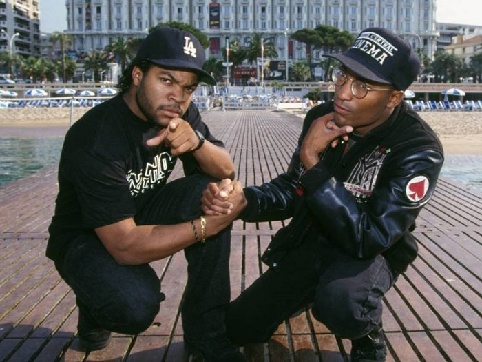 John Singleton and Ice Cube (Alt)