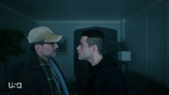 Mr. Robot and Elliot in JG's Apartment (Alt)