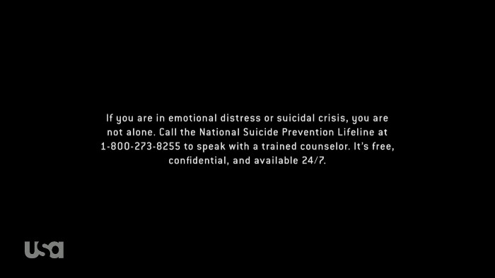 Suicide Prevention Number (Alt)