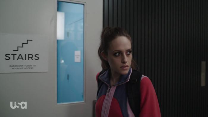 Darlene in Gym Clothes (Alt)