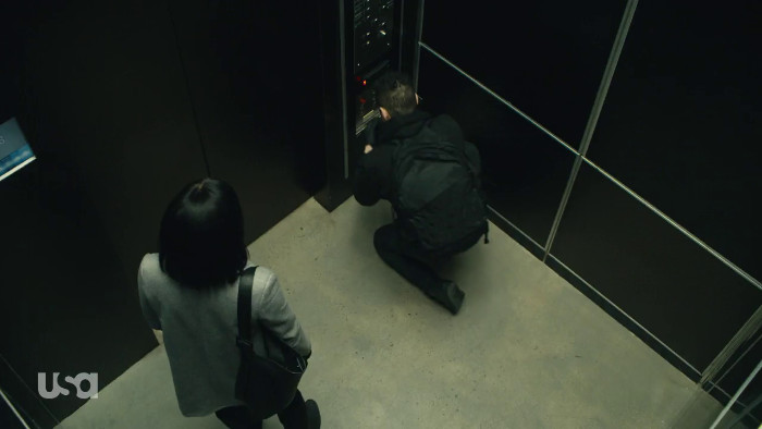 Elliot Picks the Elevator Lock (Alt)