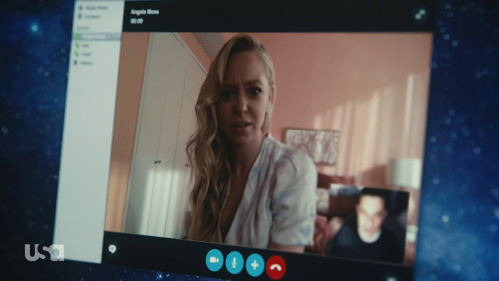 Angela on Skype (Alt)