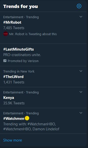 Mr. Robot - Episode 11 Trending 12.15.2019