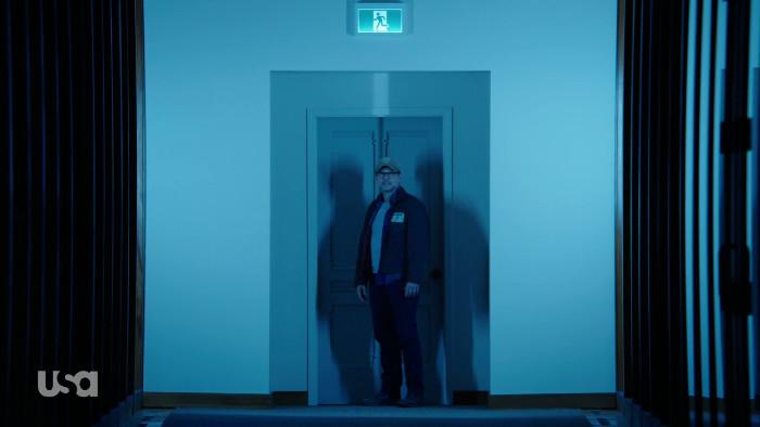 Mr. Robot in Elliot's Hallway (Alt)