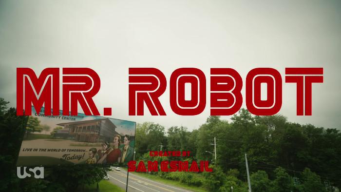 Mr. Robot Title Card - 412 whoami (Alt)