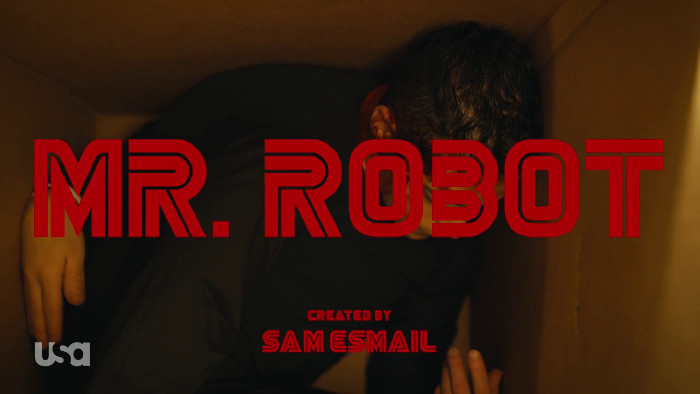 Mr. Robot Title Card - 413 Hello Elliot (Alt)