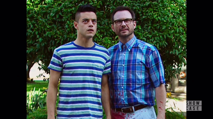Elliot and Mr. Robot in the Sitcom World (Alt)