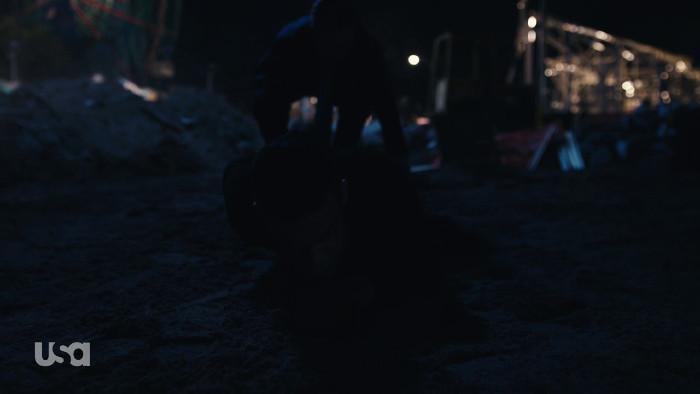 Tyrell Drags Elliot in Grave (Alt)